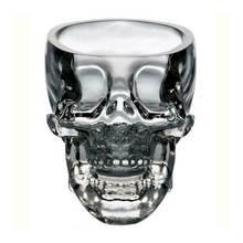 V skull head shot стеклянная чашка кружка для вина пивное стекло