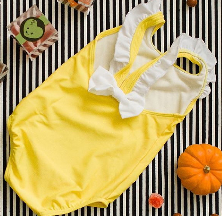 2018 Europe And America Hot Selling Beach Cute One-piece CHILDREN'S Swimsuit 88yp0105 Bathing Suit