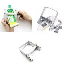 Портативный ручной алюминиевый дозатор зубной пасты тюбик выдавливатель
