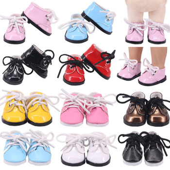 Doll Shoes 5 Cm Sequins Canvas Sneakers Shoes For 14.5 Inch Nancy American Doll&BJD EXO Doll Boots Doll Generation Girl`s Toy