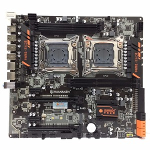 Image 2 - huananzhi HUANANZHI X79 dual CPU LGA2011 LGA 2011 motherboard with dual processor DDR3Suitable for server CPU and server memory