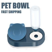 Pet-Supplies Dog-Bowl Puppy-Feeder Food-Container Water-Dispenser Pet-Drinking-Fountain