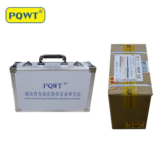 جهاز كشف المياه الأرضية PQWT عالية الكشف عن عمق البحث تحت الأرض جهاز كشف المياه 5