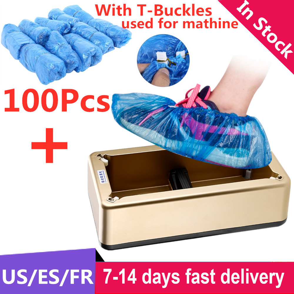 Automatic Shoes Cover Machine Dispenser Household Disposable Waterproof Anti Dust Shoe Covers Machine Box For Home Office