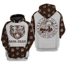 PLstar Cosmos 3D print Papa Bear Burn Off Crazy Camping 3D All Over Printed Shirt What I Want Hoodie Men Women Hooded Sweatshirt fanny blake what women want