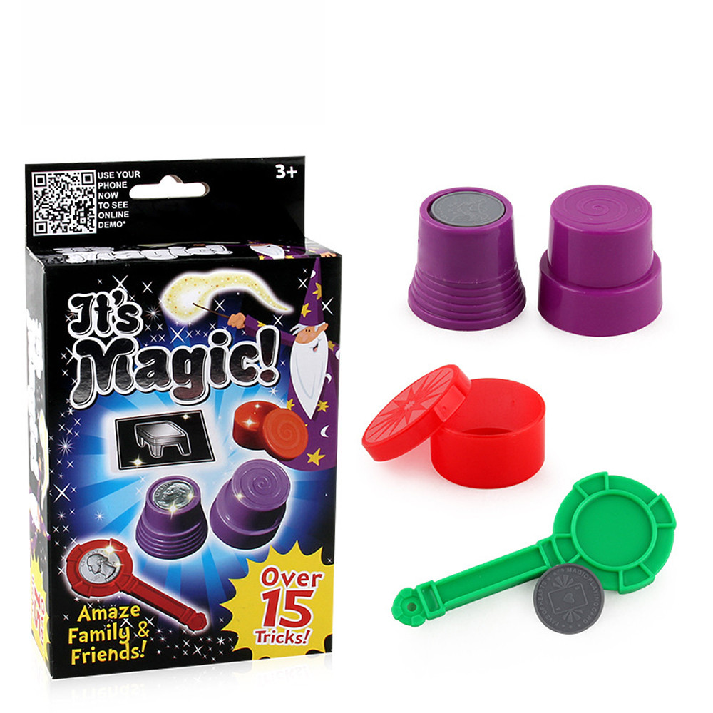 Magic Classic Vanishing Ball And Vase Party Magic Trick Set Magic Props Show Toy Magic Fun Novelty Toys Toys  L1231