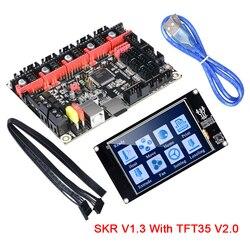 BIGTREETECH SKR V1.3 32 Bit płycie głównej z TFT35 V2.0 ekran dotykowy Smoothieboard płyta kontrolera dla Ender 3/5 3d drukarki