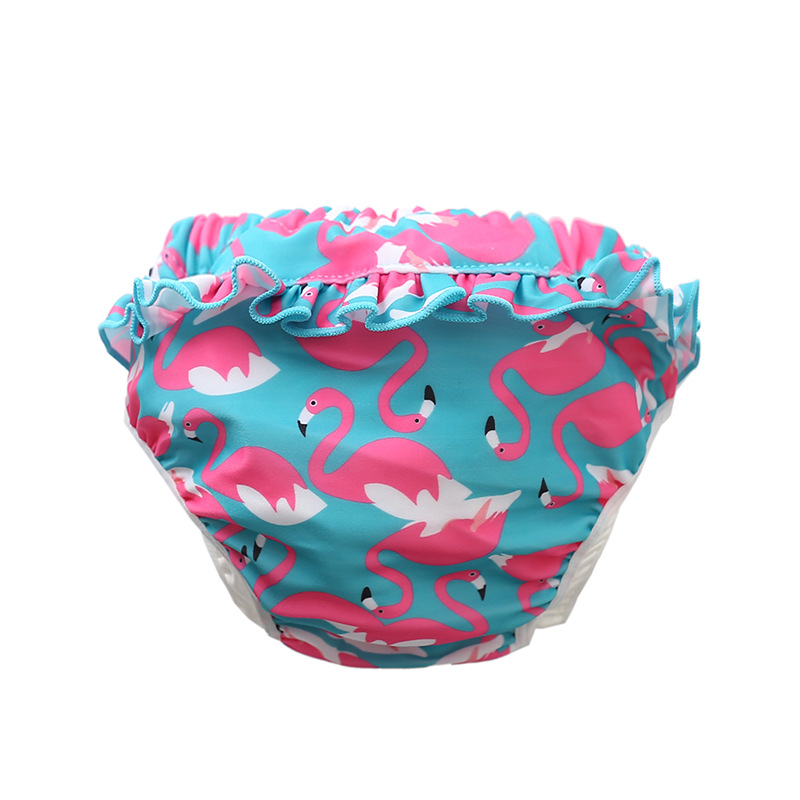 CHILDREN'S Swimming Trunks Baby Girls Bathing Suit Swimming Trunks Infant Waterproof Leak-Proof Swimming Trunks Swimming Trunks