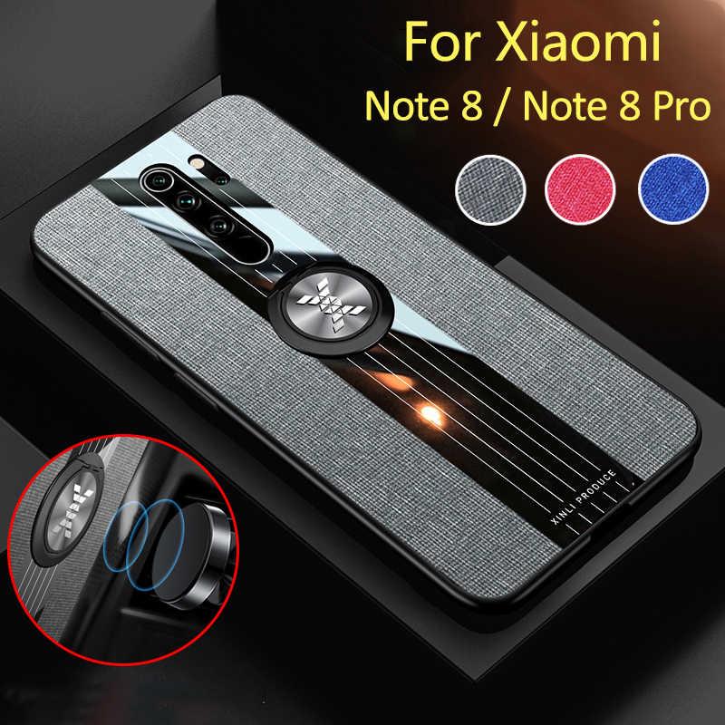 מקרה על לxiaomi Redmi הערה 8 פרו טלפון כיסוי note8 note8pro 8pro 8 הערה Kickstand מגנטי ספיחה ksiomi פגוש fundas