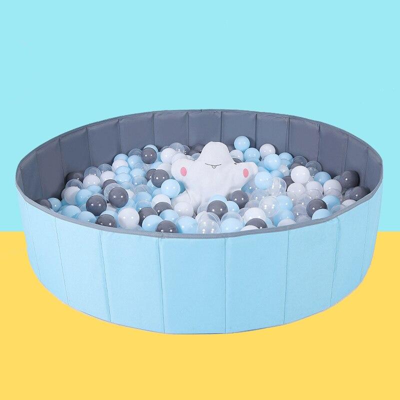 Детский сухой бассейн, складной манеж с шариками для сухого бассейна, детская игровая площадка, игрушки для детей, подарок на день рождения
