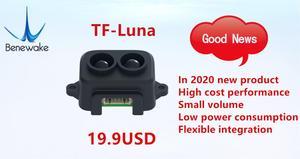 Image 3 - 5 pces tf luna benewake lidar range finder sensor módulo único ponto variando para arduino pixhawk zangão uart versão