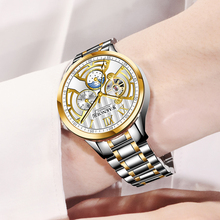цены FORSINING Mens Watches Fashion Sport Business Steel Waterproof Automatic Mechanical Watch Clock Relogio Masculino Montre Homme