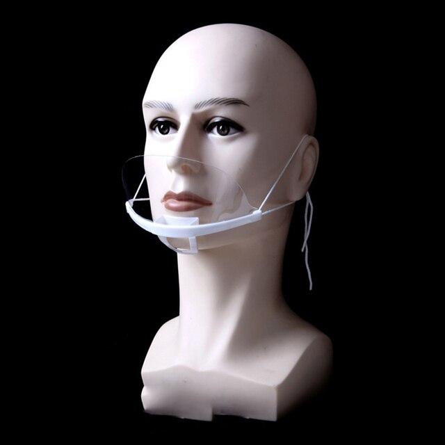 Διάφανη Μάσκα πολλαπλών χρήσεων 10pcs/set