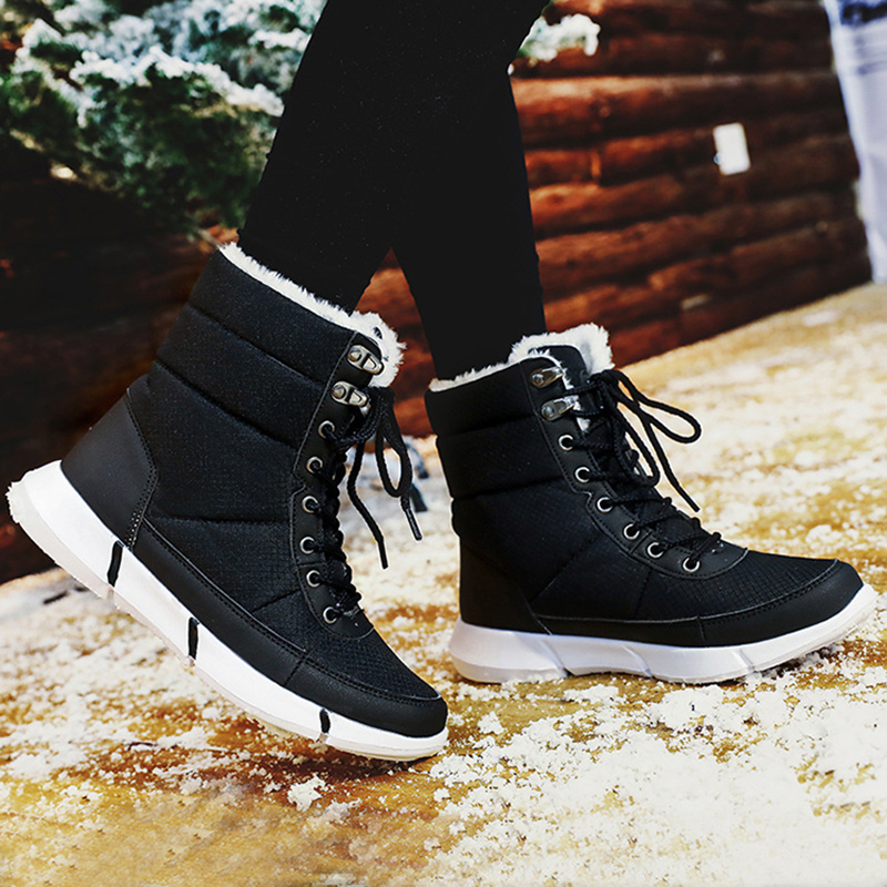 Bota Feminina Men Winter Boots Ladies Ankle Boots For Men Winter Shoes Men Snow Boots Mujer Plus Size