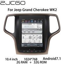 Reproductor Multimedia de coche estéreo GPS DVD Radio navegación NAVI Android pantalla para Jeep Grand cheroki WK2 2011 ~ 2020