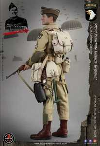Image 5 - Soldier Story SS110 1/6 WWII US Army 101 Airborne Division 502 Regiment Paratroopers Male Soldier Action Figure Collections