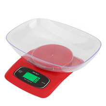 5kg/0.1g 12kg/1g Portable Digital Scale LCD Electronic Steelyard Kitchen Scales Postal Food Balance Measuring Weight Libra