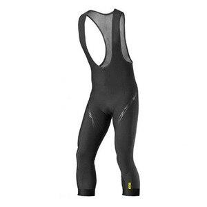 Мужские летние велосипедные укороченные брюки MAVIC 3/4, уличные велосипедные износостойкие брюки комбинезоны, высококачественные велосипедные спортивные брюки с гелевыми вставками|Штаны для велоспорта|   | АлиЭкспресс