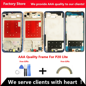 AAA Quality Middle Frame For Huawei P20 Lite Middle Frame Housing Cover For P20 Lite Middle Frame