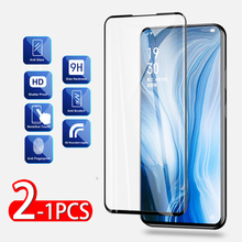1-2pcs Full Glue Tempered Glass For Oppo Reno 2 2z Screen Protector Safety Protective Film For Oppo Realme 2 C1 X Glass 10X Zoom