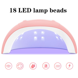 54w Large Space Dual Light Source UV Nail Lamp Sun Nail Lamp Pink Led Phototherapy Machine Nail Light Therapy Machine Nail Tools