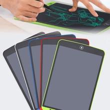 Color 8,5 pulgadas LCD escritura Junta chico Graffiti de tablero de dibujo electrónica de energía de la luz de tablero de dibujo tablero de juguete para niños