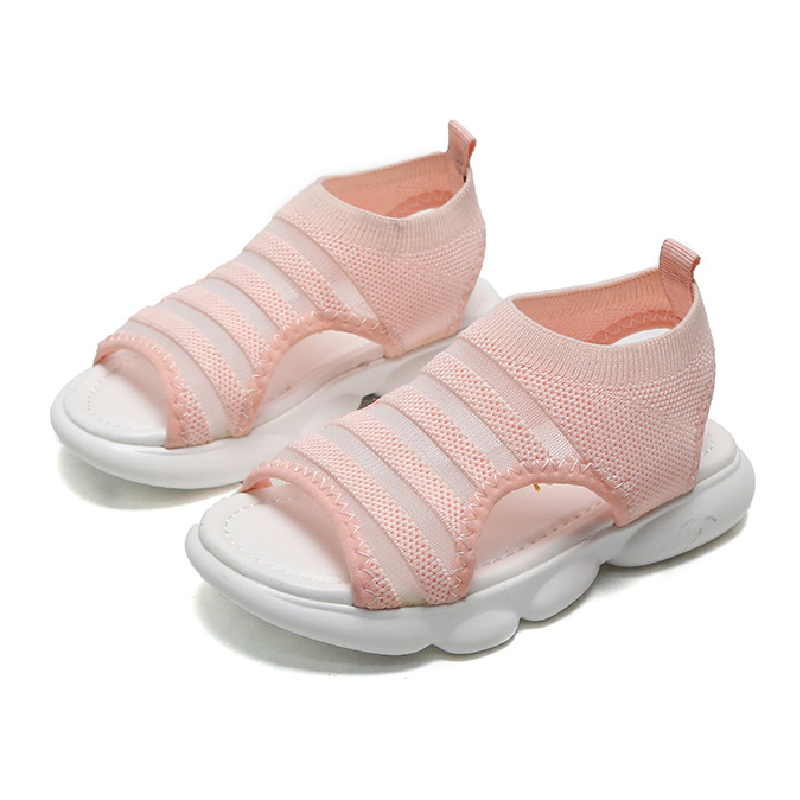 Children Fashion Sport Sandals Baby Comfortable Sandals Summer New Girls Beach Shoes Kids Casual Sandals Mesh Teens Shoes