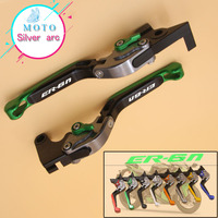 8 Colors CNC Motorcycle Brakes Clutch Levers For KAWASAKI ER6N ER 6N 2009 2010 2011 2012 2013 2014 2016 Accessories