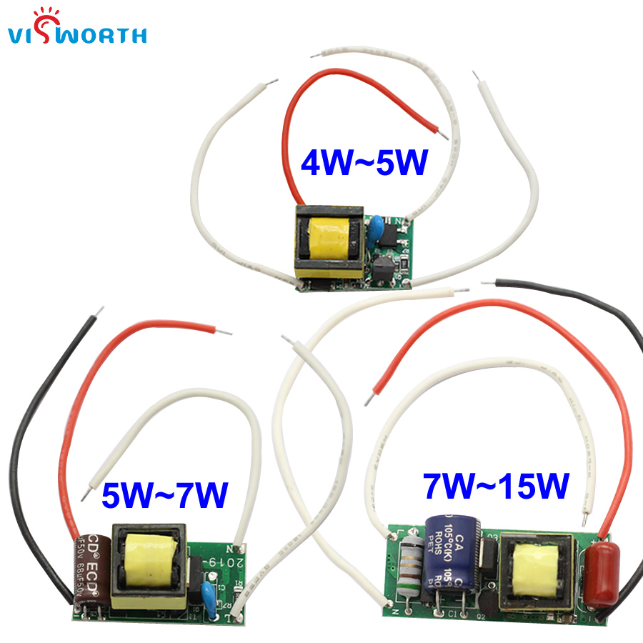 3W 5W 7W 15W Dimmable Led Driver 250ma Constant Current LED Driver AC 110V 220V 240V Lighting Power Suply For Led Light Bulb