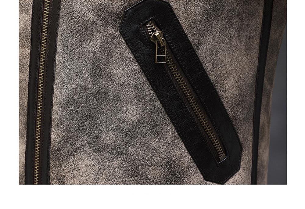 H528b651ae45e49b9bbabd8ad61448822j 2019 Fashion 100% Quality Real Sheepskin Fur Men Coat Genuine Full Pelt Sheep Shearling Male Winter Jacket Brown Men Fur Outwear