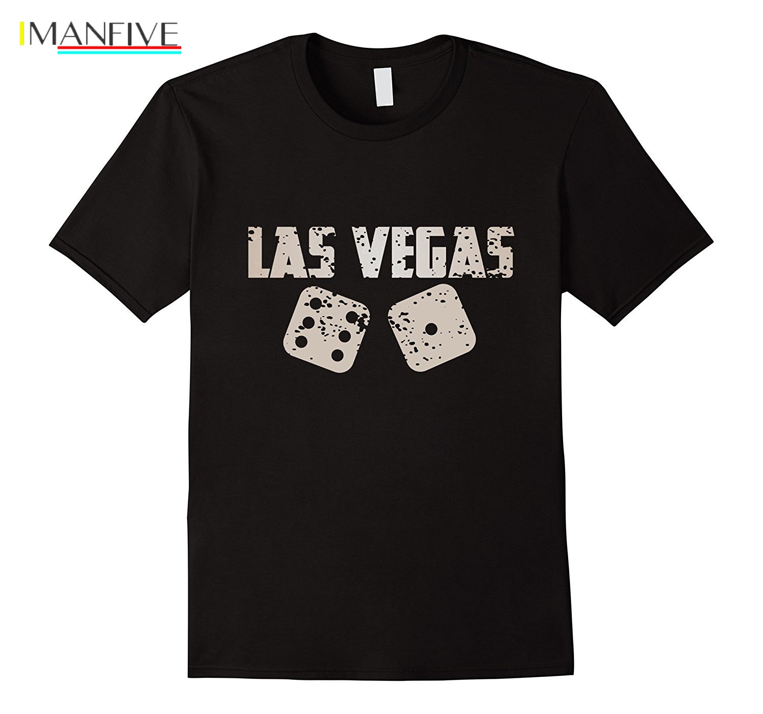 2019 New Summer Cool Tee Shirt Las Vegas Souvenir Craps Dice Lucky T Shirt Funny T shirt in T Shirts from Men 39 s Clothing