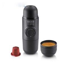 Minipresso Кофеварка Ручной пресс капсулы и порошок кофемашина ручной эспрессо Портативный Открытый путешествия кофе