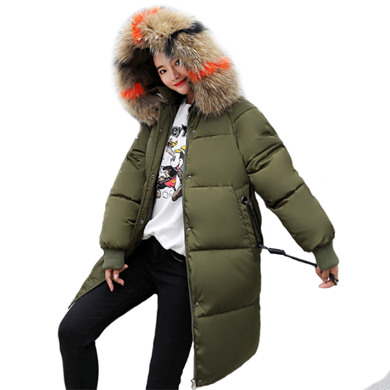 Maternity Winter Coat Fashion Down Jacket For Pregnant Women Loose Thick Long Coat Windbreaker Warm Maternity Hoodie S-3XL
