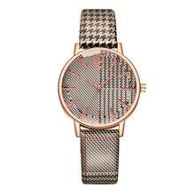 цена на 2019 Leather Ladies Casual Women Watches Classic Stripe Dress Watch Zegarek Damski Reloj Mujer Dropshipping Clock Montre Femme
