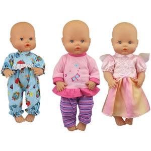 3pcs in 1, lovely Clothes Fit 35 cm Nenuco Doll Nenuco y su Hermanita Doll Accessories