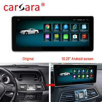 4+64G Android 9.0 Car Radio Bluetooth GPS Navigator for Mercedes Benz E Class coupe C207 A207 W207 2010 2015