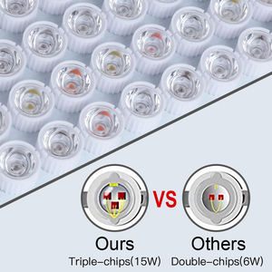 Image 5 - Famurs led coltiva la luce 800W/1500W/2000W/3000W Full Spectrum riflettore Triple chip Veg Bloom per le piante dappartamento crescere tenda impianto led