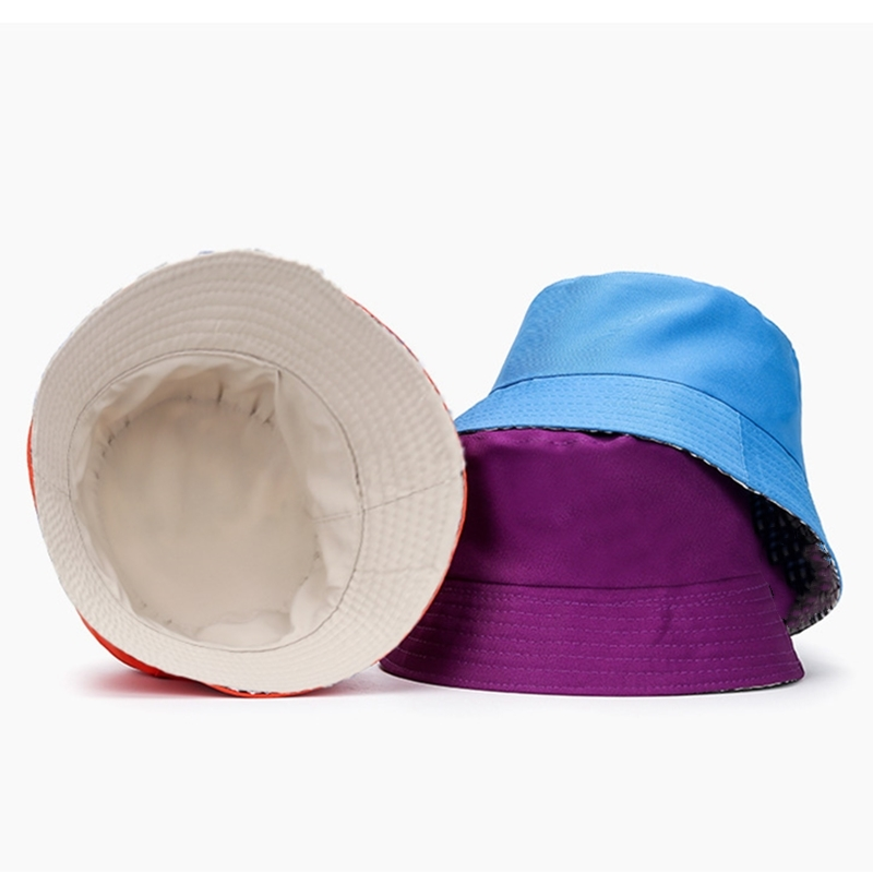Spring And Autumn Hat For Women Double-sided Can Use Soft Comfortable Fisherman Hat Men Travel Shade Fishing Bucket Hats Unisex