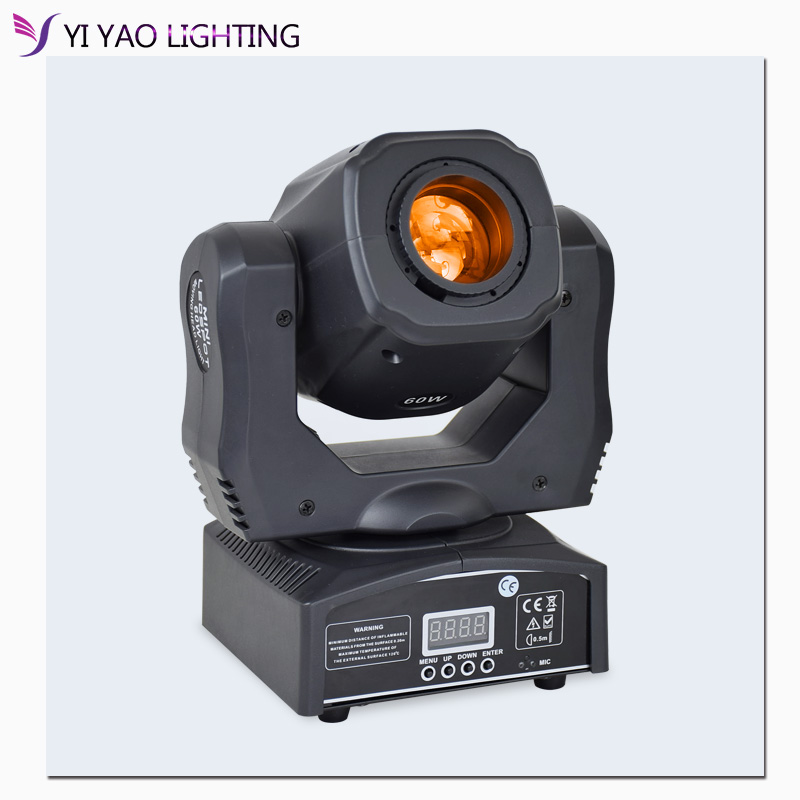 Pocket Spot 60w Gobos Moving Head Light DMX Dj Stage Lights