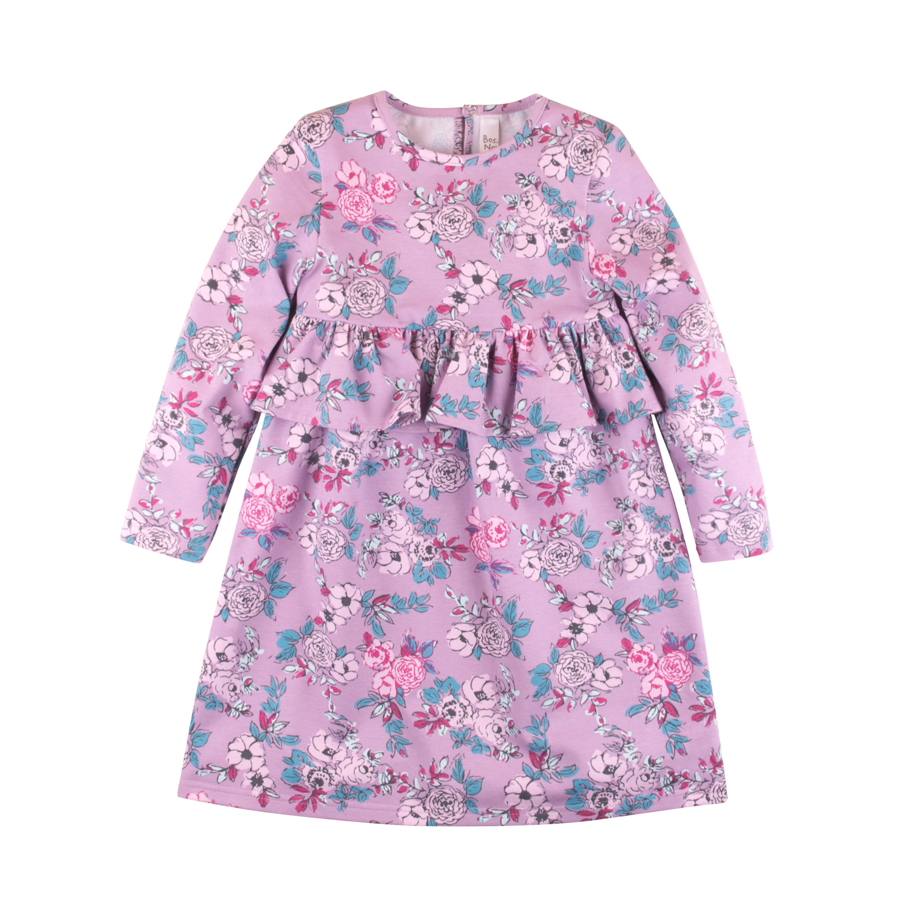 Dresses BOSSA NOVA 163M-187c Maya baby dress for a girl tunic clothes clothing Cotton