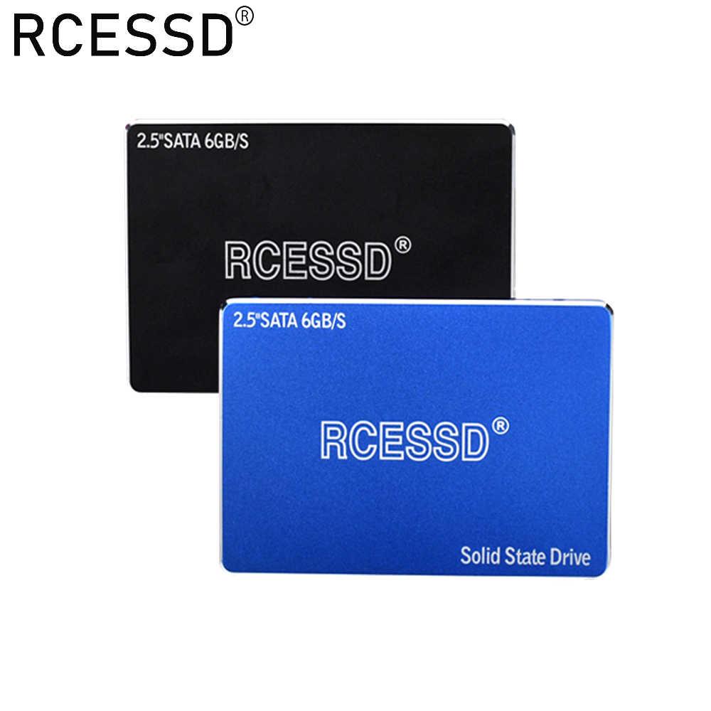 RCESSD 1tb 120gb 240gb 480gb SSD 500g HDD 2.5 ''SSD SATA SATAIII 512gb 256gb 128gb wewnętrzny dysk półprzewodnikowy do laptopa Desktop