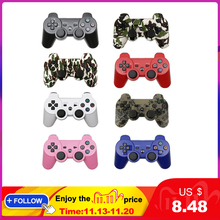 Bluetooth ControllerสำหรับSONY PS3 GamepadสำหรับPlay Station 3ไร้สายจอยสติ๊กสำหรับSony Playstation 3 PC SIXAXIS Controle