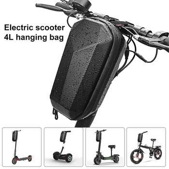 Electric scooter hard shell hanging bag electric handlebar storage front carrying