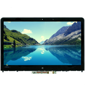 00HT568 Original New Full Lenovo Thinkpad Yoga 14 / Yoga 14 (20DMZ0YUCN)  FHD LCD  LED Touch Screen Digitizer Assembly Bezel
