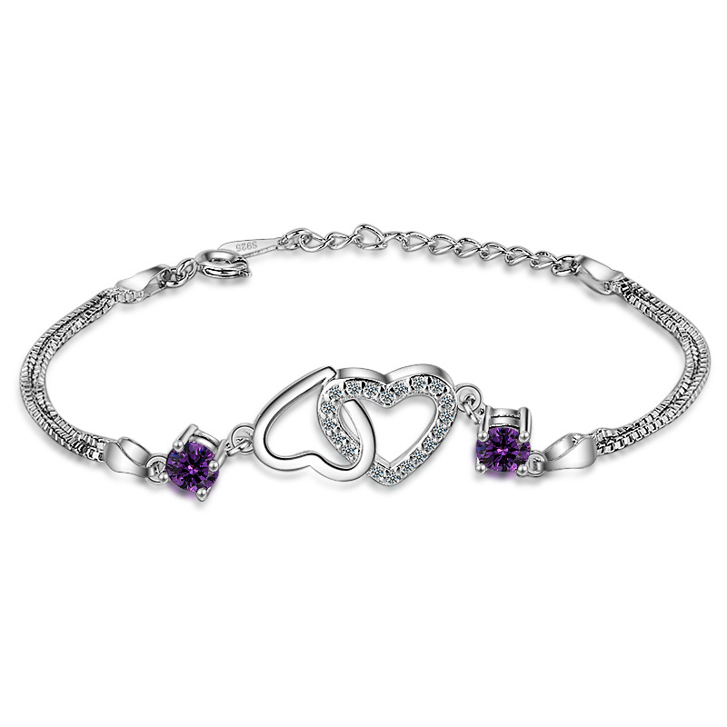 Double Heart Bracelet 1