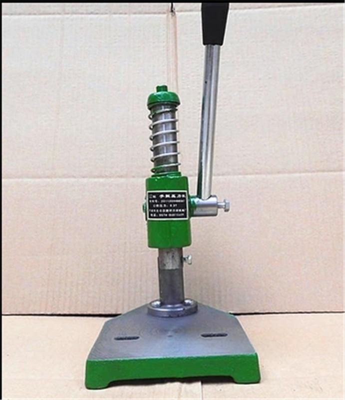 New 0.3 Ton Manual Punch Hand Presses Manual Punching Machine Manual Press ,Worktable 165*215mm ,Work Trip 35mm ,Column 260mm