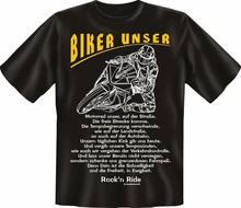 T-shirt Motard Notre Vélo Moto Amusant Haut Cadeau DAnniversaire Cornee Imprime