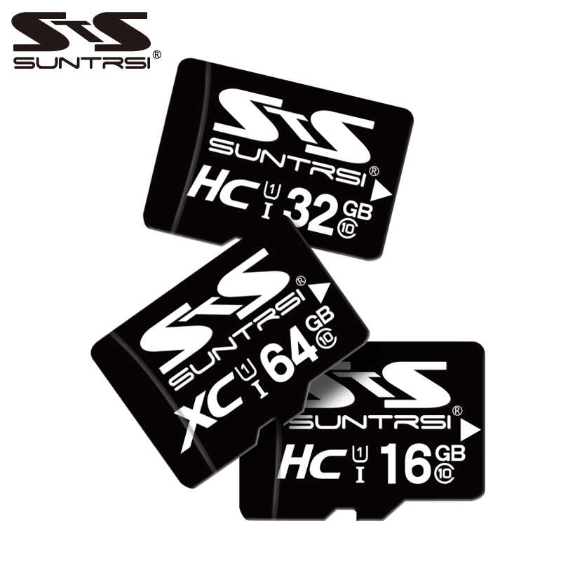 Suntrsi 64GB Micro SD Card Class 6 Memory Card 32GB High Speed Microsd TF Card 16GB 8GB 4GB Original Microsd for Phones Cameras