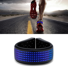 LED Luminous Shoe Clip Lights Running Shoes Outdoor Bicycle Walking Night Safety Light Halloween Party Supplies