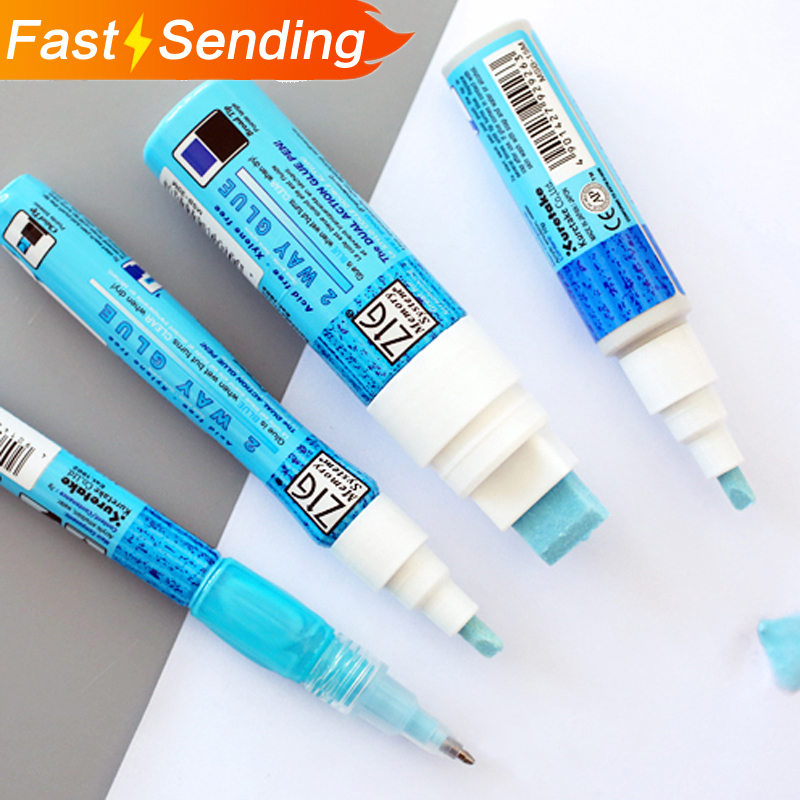 JIANWU/1pc JAPAN  Kuretake ZIG Environmental Protection Coloured Glue DIY Tools Glue Pens Office Supplies
